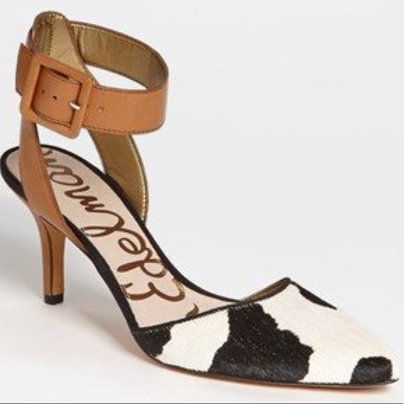 c143096ce7edf3 Sam Edelman Okala Ankle Strap Pump Heel Size 8M. M 5aff3e0950687c5e569bb836